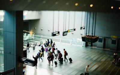 Bestrijding Corona-virus op vliegvelden met warmtebeeldcamera's