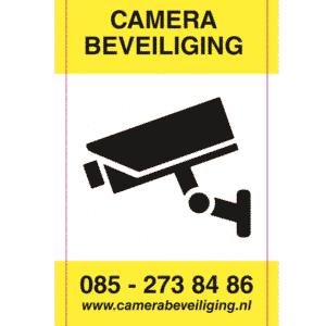 sticker camera beveiliging AVG