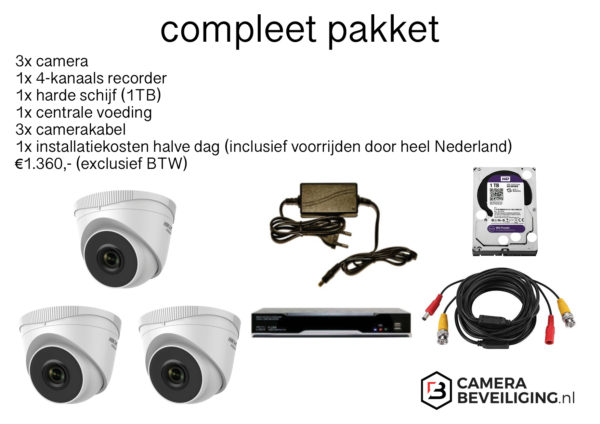 camera beveiliging set
