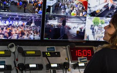 Cameratoezicht bij evenementen
