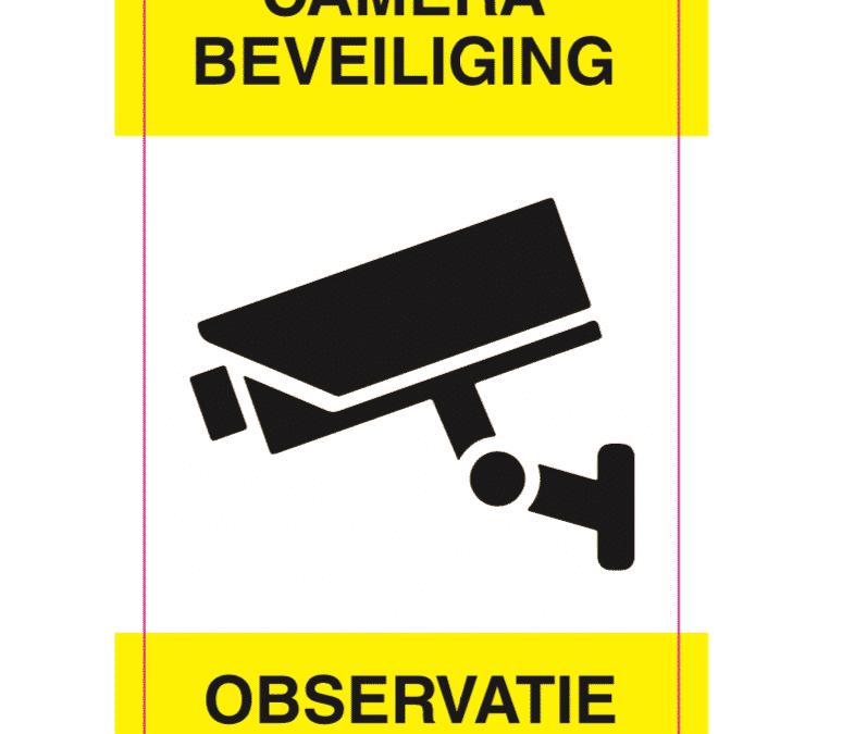 De regels omtrent camera beveiliging