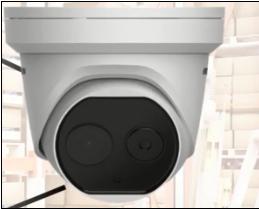 Thermal Bi-spectrum deep learning turret camera